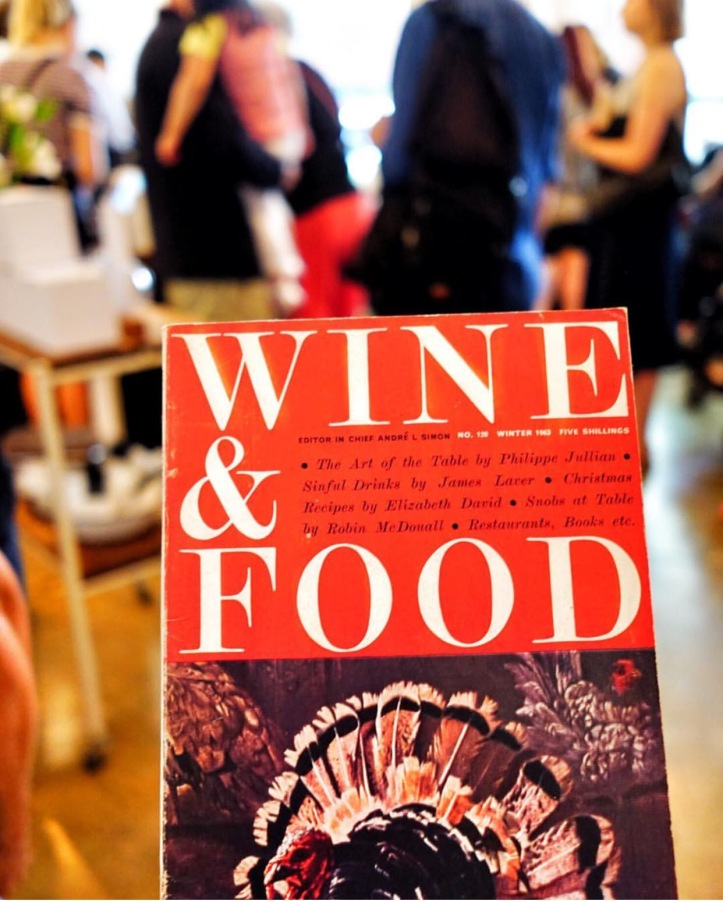Andre Simon Food Wine Magazine 1963