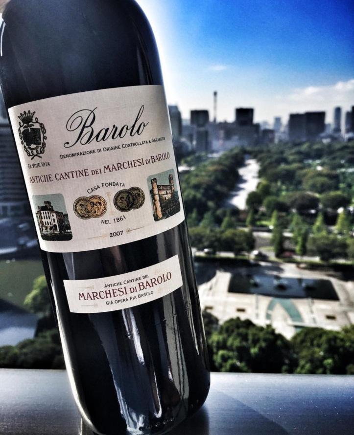 Barolo di Marchesi Piedmont wine
