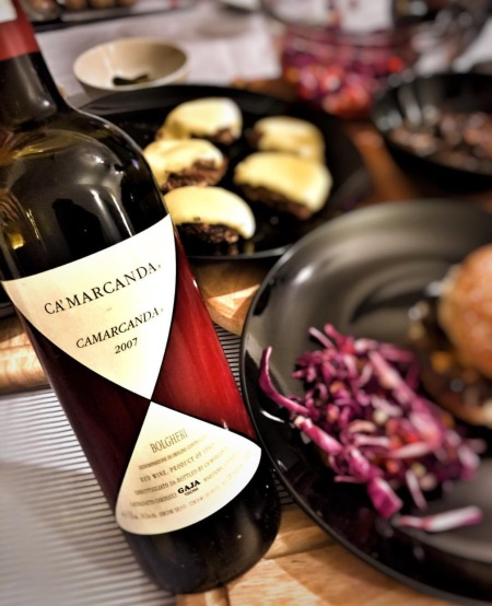 Camarcanda Bolgheri Tuscany Italy wine Gaja
