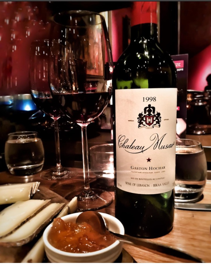 Chateau Musar Lebanon wine 1998 review