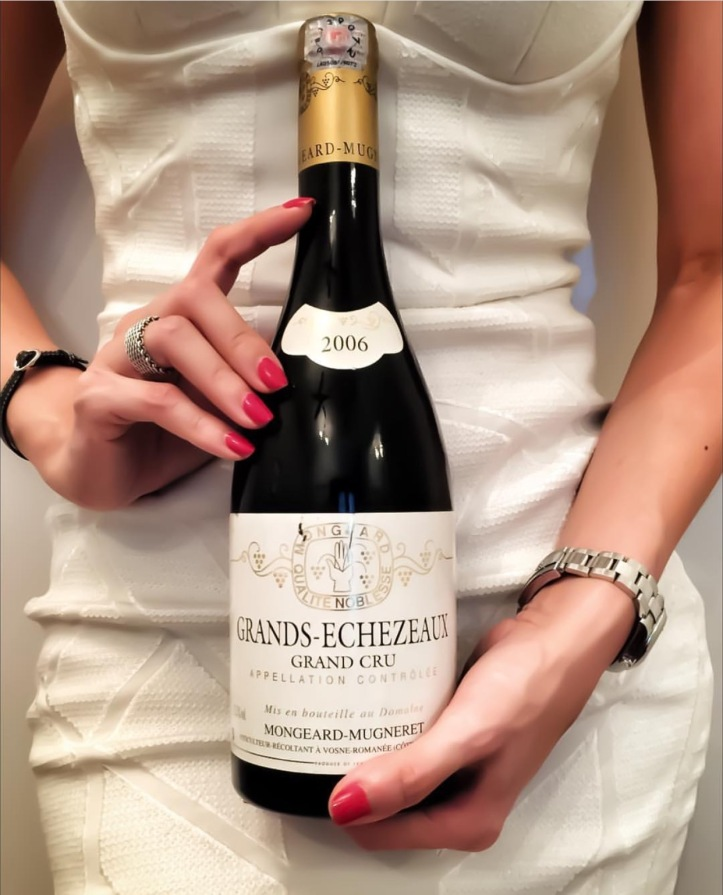 Grands Echezeaux Burgundy girl meets wine