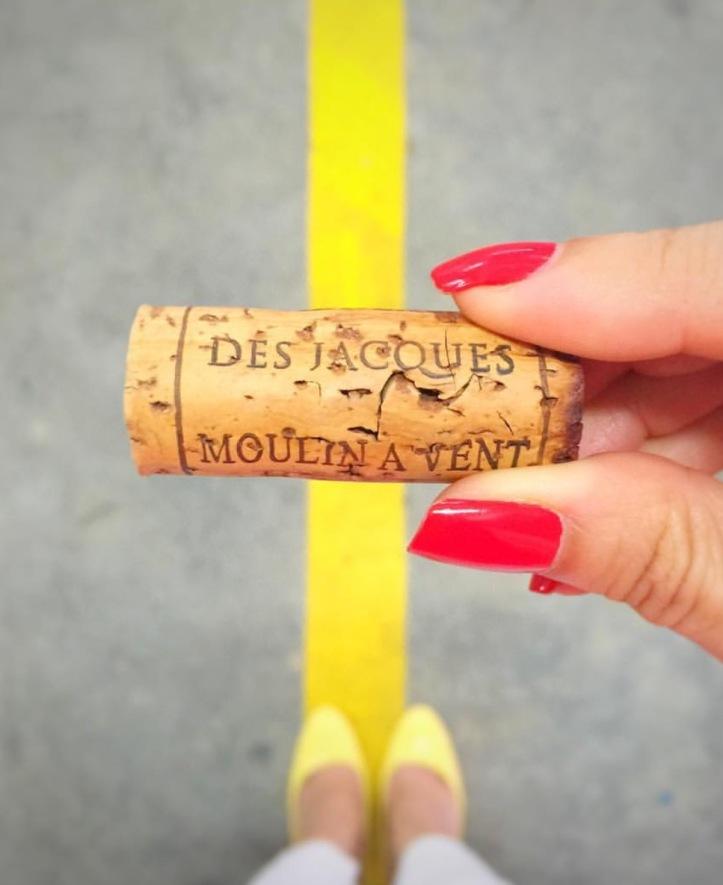 Moulin a Vent Beaujolais wine cork