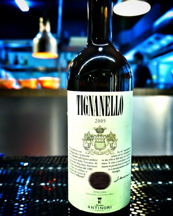 Tignanello antinori tuscany italy wine