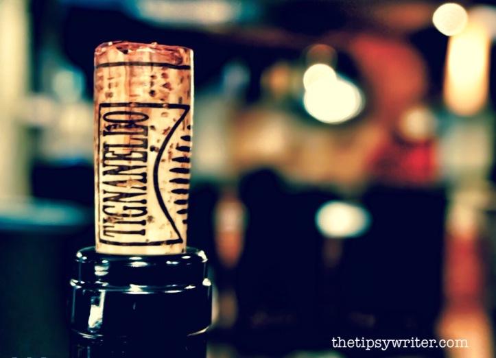 Tignanello Italian wine cork