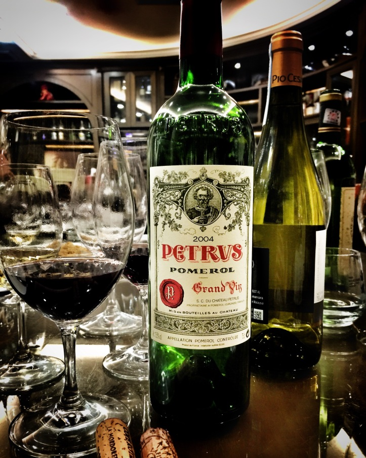 Petrus girl meets wine Pomerol